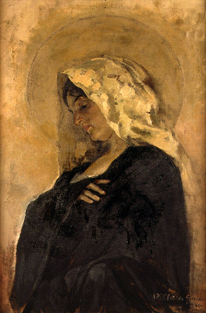 La Virgen Maria 1885 87 (Joaquín Sorolla y Bastida)