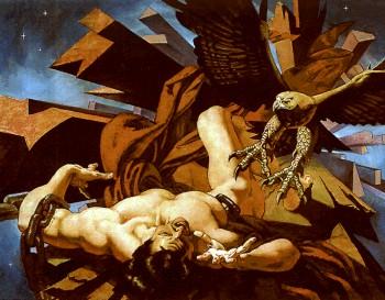 Prometheus und der Adler