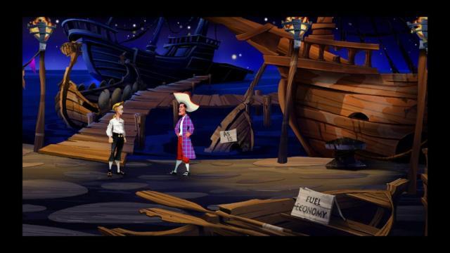 Monkey Island: Gebrauchtbootverkäufer Stan (LucasArts)
