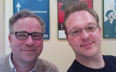 Mit Axel Meyer (links) hat die Evolution einen vorzeigbaren Pan Sapiens hervorgebracht. Leider ist sie vor grässlichen Mutationen (rechts) nicht gefeit.