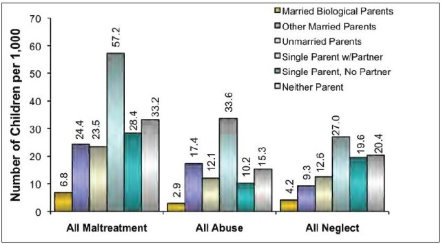 "US Department of Health ""National Incidence Study of Child Abuse and Neglect"""