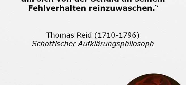 Thomas Reid Willensfreiheit