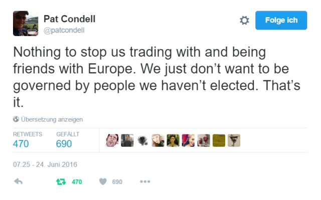 Pat Condell Brexit