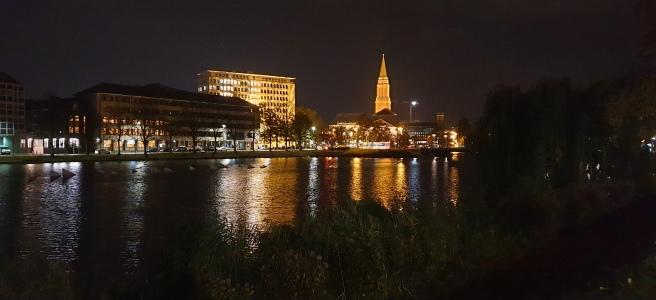 Kiel bei Nacht (Foto: Andreas Müller)