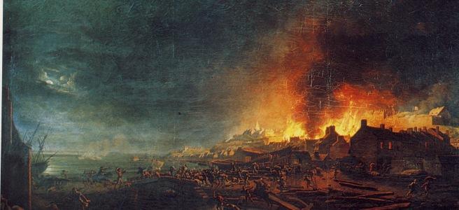 The burning of Granville, 14 November 1793